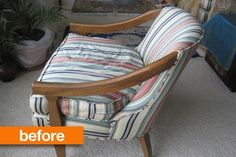 Before & After: Inherited Chairs Get a Fresh Colorful Look