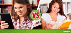 ¿Prefieres leer un libro digital o uno impreso?