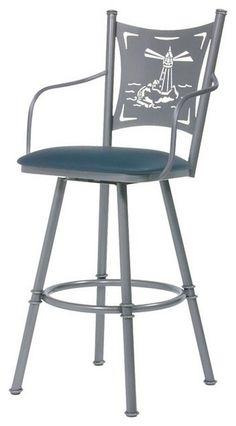 swiveling bar stool with arms Bar StoolStoolsKansas City