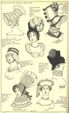 Village Hat Shop Gallery :: Chapter 13 - French Consulate and Empire 1800-1815 :: 210_G