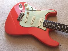 Left Handed 1960 Fender Stratocaster with 12/63 body