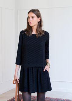 Sézane - Robe Anna Anna Dress, I Dress, Paris Mode, Casual Chic Style, Couture, Parisian Style, Mode Inspiration, Mode Style, Winter Dresses