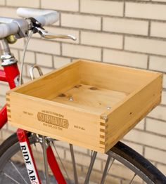 Wooden Constructeur Bicycle Box
