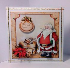 Card Gallery - Luxury Father Christmas Mini Kit