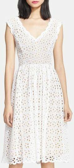 Tracy Reese 'Dolce Vida' Eyelet Lace Dress