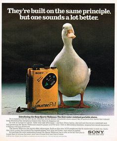 Vintage Ads - the duck sounds better, also tastes better :)