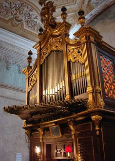 Açores   Ribeira Grande   Órgão da Igreja Matriz Cathedral Church, Kirchen, Amazing Architecture, Musical Instruments, Cathedrals, Worship, Grande, Scenery, Spain