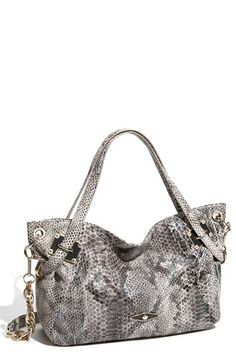 Elliott Lucca 'Cordoba' Snake Embossed Satchel | Nordstrom - StyleSays Start The Party, Walk This Way, Beautiful Love, Macbook Pro, Hand Bags, On Shoes, Versace, Purses And Bags, First Love