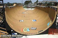 Encinitas Skatepark: Vert Ramp California Skateparks, Skate Park, Extreme Sports, Skateboarding, Therapy, Exterior, Skateboard, Counseling, Surfboard