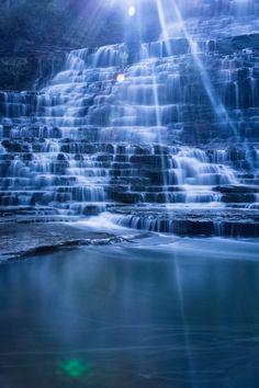 Hamilton Albion Falls by Ben Hero