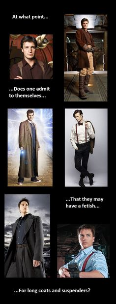 Firefly, Doctor Who, and Torchwood;