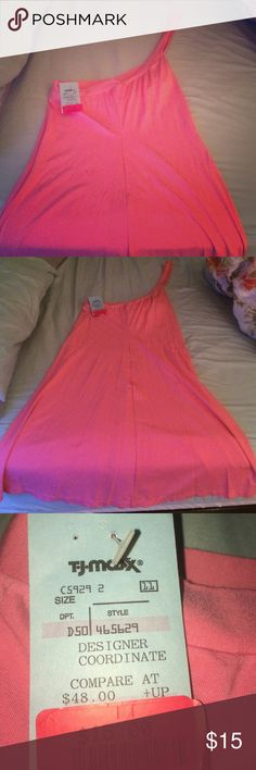 🆕Pink Dress BNWT pink dress. Very soft and flowy. No size on tag, fits like a small. Cosabella Dresses Midi