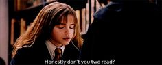 Guys, Harry Potter was a major dickhead. For starters, he made poor Hermione do all his homework.