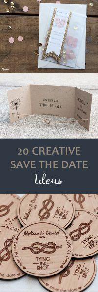 20 Creative Save the Date Ideas