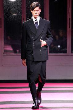 Yohji Yamamoto, Fall 2013, Garment, Inspiration, Dark Clash