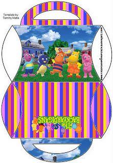 Cajitas imprimibles de Backyardigans. - Ideas gratis para fiestas y celebraciones Oh My Fiesta!