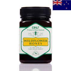 【天猫超市】新西兰原装进口DNZ成熟野花蜂蜜500g