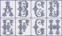 Free Easy Cross, Pattern Maker, PCStitch Charts + Free Historic Old Pattern Books: Sajou No 601