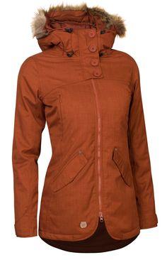 Téli kabát Woox Lanula Ginger Chica női 83126c4d51