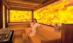 Read the webpage above just click the link for even more options ~ helo sauna Home Spa Room, Spa Rooms, Spa Design, Saunas, Steam Sauna, Dry Sauna, Spa Store, Big Bear Cabin, Salt Room