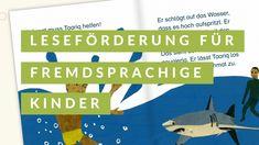 Amira vereinfacht fremdsprachigen Kindern den Lesestart. German Language Learning, Grammar, Elementary Schools, First Aid, Kids