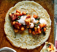 These cheap and cheerful paneer pancakes take just 20 minutes to plate up and make an iron-rich veggie meal for two. Spoon on mango chutney and enjoy