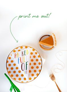 thanksgiving printables for your to-go boxes full of leftovers! // marabou designs and coco+kelley