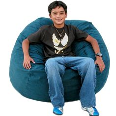 The Cozy Sac foam chair is the most comfortable place to sit anywhere. They are filled with the softest virgin urethane foam available. The urethane foam will spring back to normal size after every use and not go flat like the traditional bean bag chairs. Cool Bean Bags, Bean Chair, Best Amazon Products, Amazon Price, Medium Brown, Home Decor Furniture, Chair Design, Love Seat, Beans
