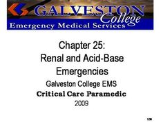 ch25  by rprue via authorSTREAM Emergency Medical Services, Power Points, Chapter 16, Critical Care, Galveston, Trauma, Presentation, Education, Onderwijs