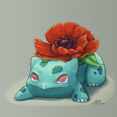 Poppy Bulbasaur for @shelgon!