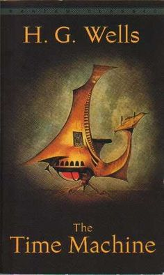 The Time Machine by H.G. Wells! indispensable to science fiction (and quite the bloodcurdler if truly explored!)