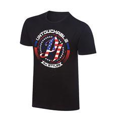 "AJ Styles ""Untouchable One"" Americana T-Shirt - WWE US"