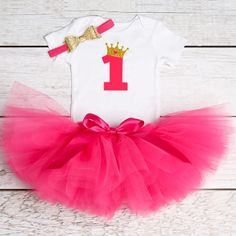 52cbaf7ad0c5 Baby Girl Clothes Newborn Bebes Clothing Sets 1 Year Toddler Tutu Suits  Baptism First Birthday Outfits