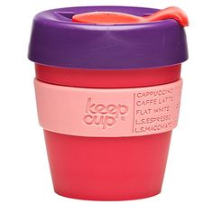 Reusable coffee cup small guava