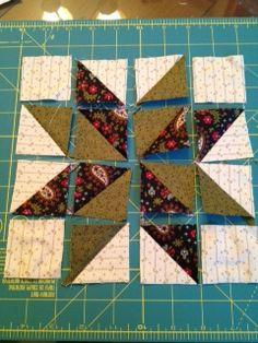 Barrister's Block: modified Lemoyne Star