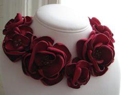 FLORACIÓN GARLAND  collar floral declaración por MariaLouiseHightoo