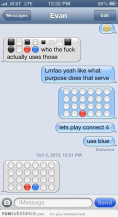 Funny pictures about Let's play Connect Four. Oh, and cool pics about Let's play Connect Four. Also, Let's play Connect Four. Lucas Y Sara, Haha, Funny Text Messages, To Infinity And Beyond, Thats The Way, My Tumblr, Just For Laughs, Laugh Out Loud, Funny Texts