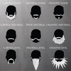 What Your Beard Says About Your D&D Alignment | Geek and Sundry