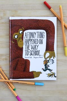A Funny Thing Happened on the Way to School Read Aloud Books, Children's Books, Good Books, Story Books, Preschool Books, Toddler Preschool, Zine, New Things To Learn, How To Memorize Things