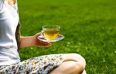 Chá verde faz bem para a cabeça e para o coração