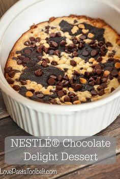 Your family will love this NESTLÉ® Chocolate Delight Dessert- Love, Pasta and a Tool Belt #HolidayRemix #ad | desserts | dessert recipe | recipes | chocolate |