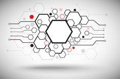 Check out Set of hexagonal cells by NikSorl on.Check out Set of hexagonal cells by NikSorl on Creative Market - Tech Tattoo, Tatoo Art, Geometric Art, Geometric Designs, Computer Tattoo, Hexagon Tattoo, Cyberpunk Tattoo, Graphic Illustration, Illustrations