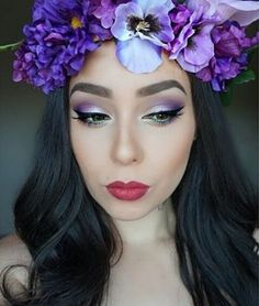 She wore #flowers in her hair & carried magic secrets in her eyes  We LOVE this #festivalseason inspired #makeup look from #BHBeauty @ms_glamfairy (featuring the Foil Eyes - 28 Color Eyeshadow Palette  See more inspiring looks on our blog  bhcosmetics.com/blog #Coachella #motd #FoilEyes