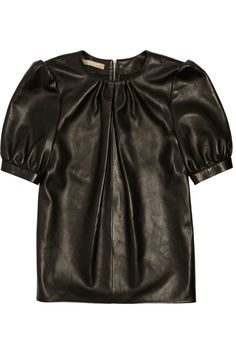 Michael Kors Leather top NET-A-PORTER.COM
