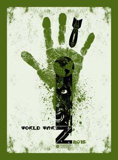 Movie Friday:10 'World War Z' Alternative Movie Posters #art