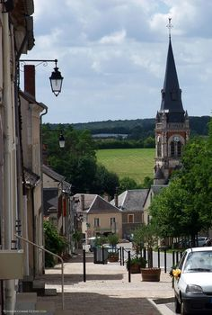 Menetou-Salon, petit village du Berry
