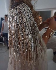 whoa this beaded cape is fab | ban.do