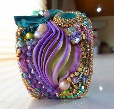 FREE Step By Step Shibori Cuff Tutorial by Serena Di Mercione Jewelry