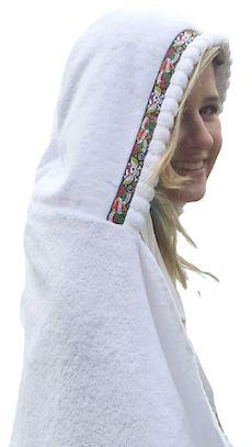 hooded adult towel