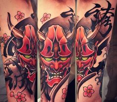 Amsterdam TATTOO 1825 KIMIHITO Hanna Mask Japanese style tattoo